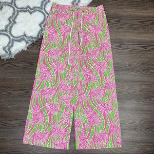 Lilly Pulitzer Linen Blend Palm Beach Pants Size 6